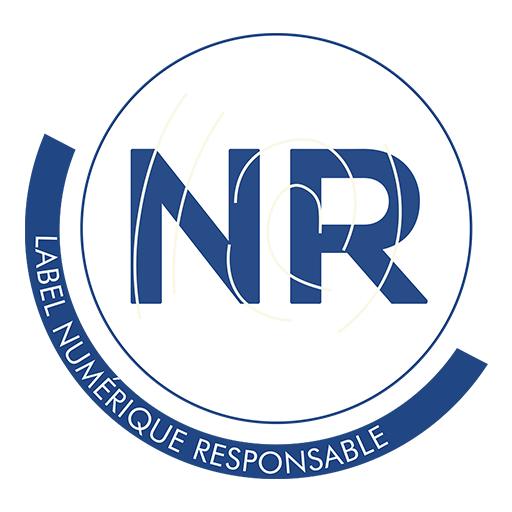 Logo label Numérique Responsable - Label NR