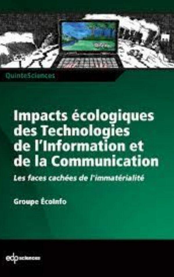 Couverture livre - Impacts écologiques des Technologies de l'Information et de la Communication - Label NR