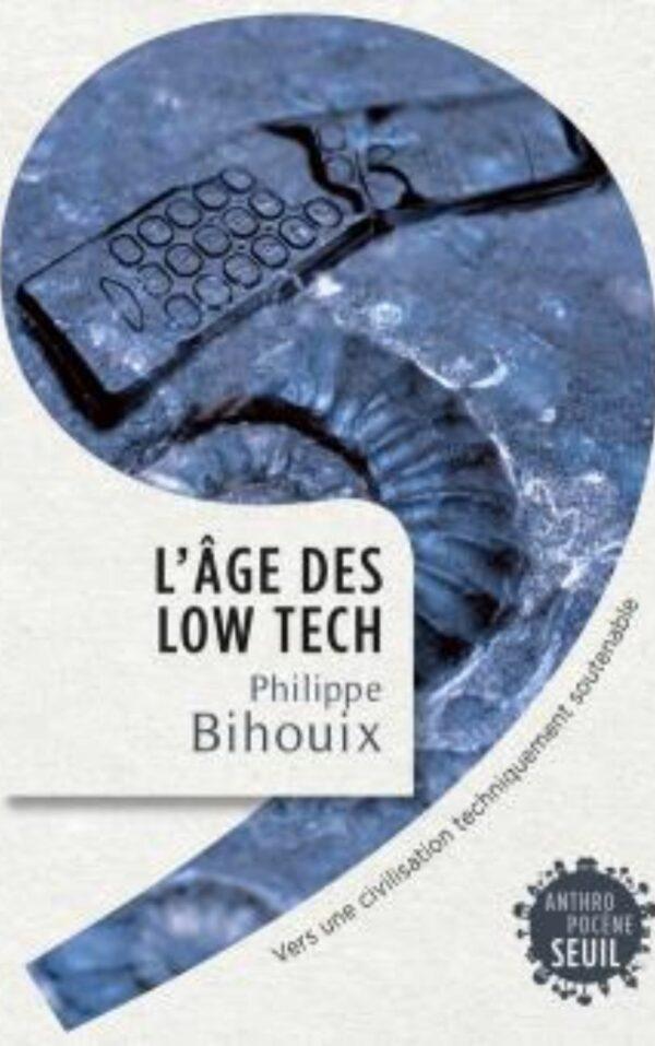 Couverture livre l'âge des low-tecg - Label NR